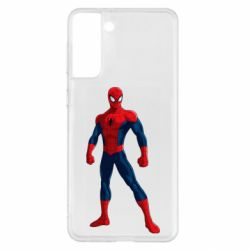 Чохол для Samsung S21+ Spiderman in costume