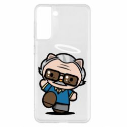Чохол для Samsung S21+ Stan lee in hello kitty style