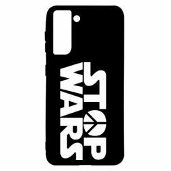 Чехол для Samsung S21 Stop Wars peace