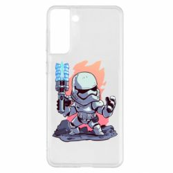 Чохол для Samsung S21+ Stormtrooper chibi