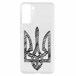 Чехол для Samsung S21+ Striped coat of arms