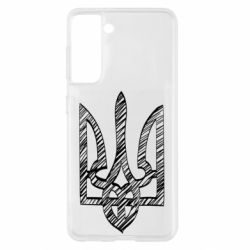 Чехол для Samsung S21 Striped coat of arms