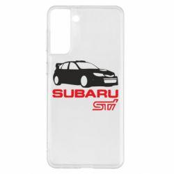 Чохол для Samsung S21+ Subaru STI