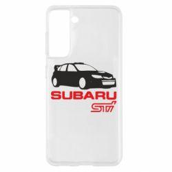 Чохол для Samsung S21 Subaru STI