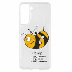 Чохол для Samsung S21 Шалена бджілка