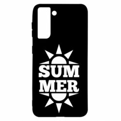 Чехол для Samsung S21 Summer and sun