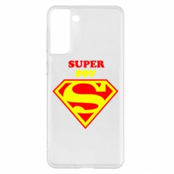 Чохол для Samsung S21+ Super Boy