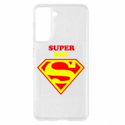 Чохол для Samsung S21 Super Boy