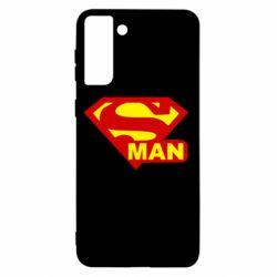 Чохол для Samsung S21+ Super Man