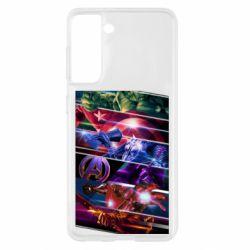Чехол для Samsung S21 Super power avengers