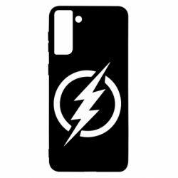 Чохол для Samsung S21+ Superhero logo