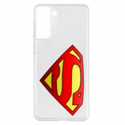 Чехол для Samsung S21+ Superman Logo
