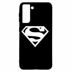 Чехол для Samsung S21 Superman одноцветный