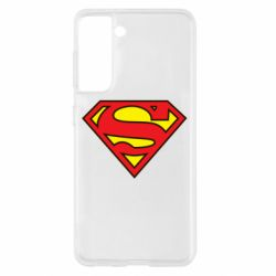 Чехол для Samsung S21 Superman Symbol