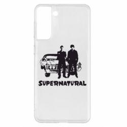 Чохол для Samsung S21+ Supernatural Брати Вінчестери
