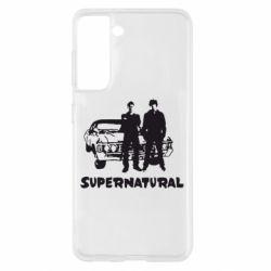 Чохол для Samsung S21 Supernatural Брати Вінчестери