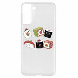 Чохол для Samsung S21+ Sushi