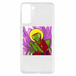 Чохол для Samsung S21+ Святий богомол