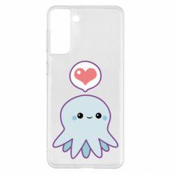 Чехол для Samsung S21+ Sweet Octopus
