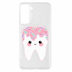 Чохол для Samsung S21 Sweet tooth