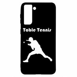 Чехол для Samsung S21 Table Tennis Logo