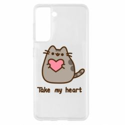 Чохол для Samsung S21 Take my heart