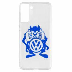 Чехол для Samsung S21+ Тасманский дьявол Volkswagen