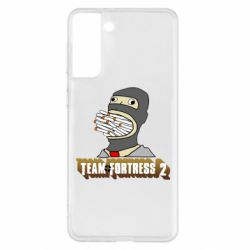 Чехол для Samsung S21+ Team Fortress 2 Art
