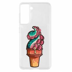 Чохол для Samsung S21 Tentacle ice cream