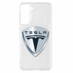 Чехол для Samsung S21 Tesla Corp