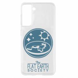 Чохол для Samsung S21 The flat earth society