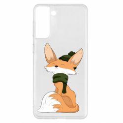Чохол для Samsung S21+ The Fox in the Hat