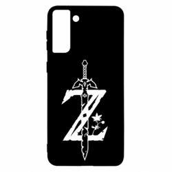 Чохол для Samsung S21+ The Legend of Zelda Logo