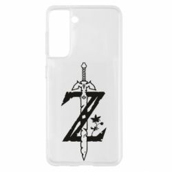Чохол для Samsung S21 The Legend of Zelda Logo