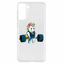 Чохол для Samsung S21+ The unicorn is rocking