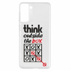 Чохол для Samsung S21+ Think outside the box