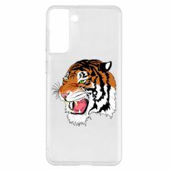 Чохол для Samsung S21+ Tiger roars
