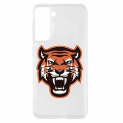 Чохол для Samsung S21 Tiger