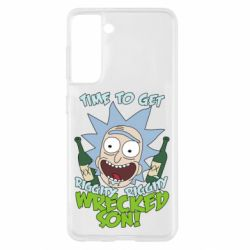 Чохол для Samsung S21 Time to get riggity wrecked son