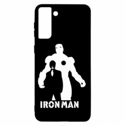 Чехол для Samsung S21+ Tony iron man