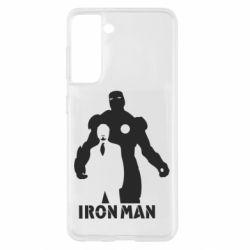 Чехол для Samsung S21 Tony iron man