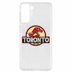 Чохол для Samsung S21+ Toronto raptors park