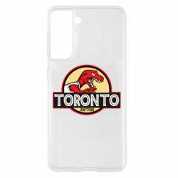 Чохол для Samsung S21 Toronto raptors park