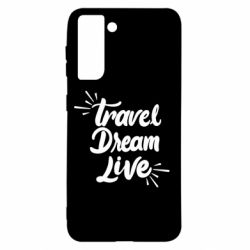 Чехол для Samsung S21 Travel Dream Live