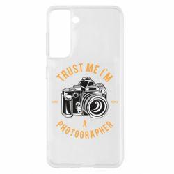 Чохол для Samsung S21 Trust me i'm photographer