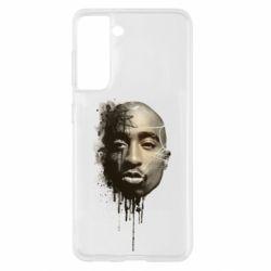 Чехол для Samsung S21 Tupac Shakur