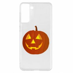 Чохол для Samsung S21+ Тыква Halloween