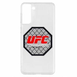 Чехол для Samsung S21+ UFC Cage