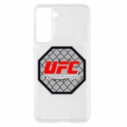 Чехол для Samsung S21 UFC Cage