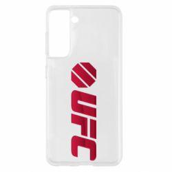 Чехол для Samsung S21 UFC Main Logo